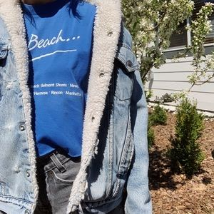 Levi's Jackets & Coats - Vintage Levi's Dad sherpa denim trucker jacket